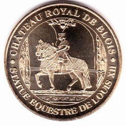 41 - Château Royal de Blois - Statue Equestre de Louis XII - 2012
