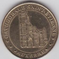 89 - Auxerre - Cathédrale Saint-Etienne - Tour nord et Portails - 2002
