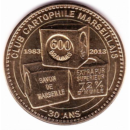 13 - Club Cartophile Marseillais - 30 ans - 2013