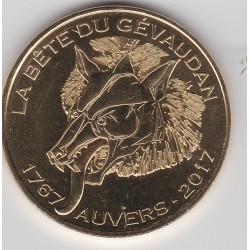 43 - SAUGUES - La Bête du Gévaudan - 1767 - Auvers - 2017