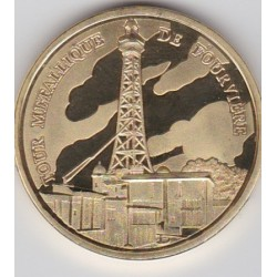 Lyon - Tour métallique de Fourvière/ Blason - diamètre 34 mm