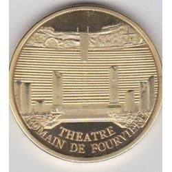 Lyon - Théatre romain de Fourvière/ Blason - diamètre 34 mm