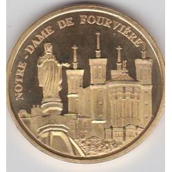 Lyon - Notre Dame de Fourvière/ Blason - diamètre 34 mm