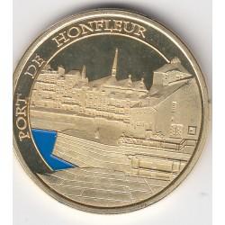 Port de Honfleur / Pont de Normandie - diamètre 34 mm