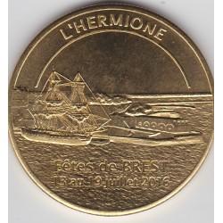 L'Hermione - Fêtes maritimes de Brest 13 au 19 juillet 2016 - 2016