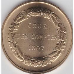 75001 - Cour des Comptes 1807 - 2006