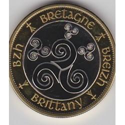 Breizh - Bretagne - Gwen a du - triskell