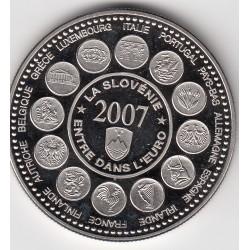 2007 - La Slovénie entre dans l'Euro (sous capsule)