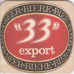 Sous bock de bière - 33 export