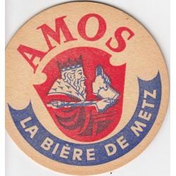 Sous bock de bière - Amos - La bière de Metz