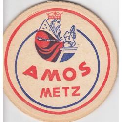 Sous bock de bière - Amos Metz