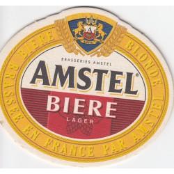 Sous bock de bière - Amstel biere