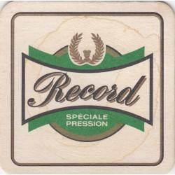 Sous bock de bière - Grutli - Record - spéciale pression