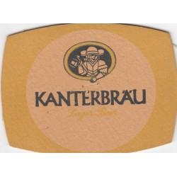 Sous bock de bière - Kanterbrau - Lager Beer