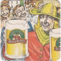 Sous bock de bière - Kanterbrau - Maître Kanter
