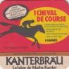 Sous bock de bière - Kanterbrau - 1 cheval de course