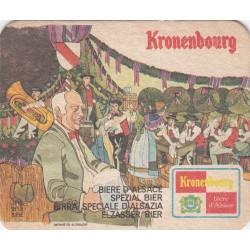 Sous bock de bière - Kronenbourg - fête de la bière