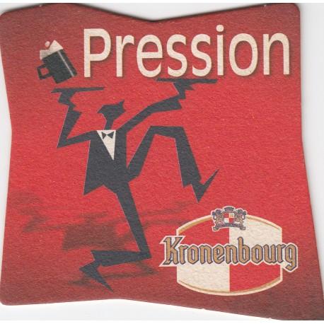 Sous bock de bière - Kronenbourg - Pression