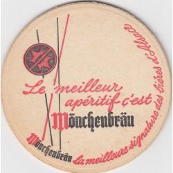 Sous bock de bière - Monchenbrau - Le meilleur apéritif, c'est ...