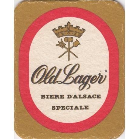 Sous bock de bière - Old lager - bière d'Alsace spéciale