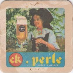 Sous bock de bière - CK.Perle - bière d'Alsace
