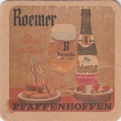 Sous bock de bière - Roemer