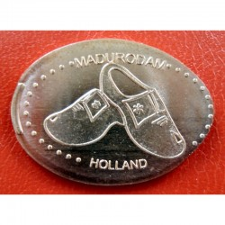 NL - Madurodam - Holland - sabots - cuivre