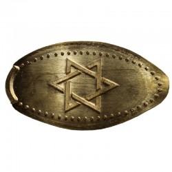 ISR - L'étoile de David 1 - doré