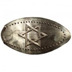ISR - L'étoile de David 1 - argenté