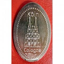 DE - Cathédrale - Köln - Cologne - cuivre