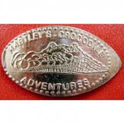 AUS - Hartleys Crocodile Adventures - Crocodile 1 - cuivre