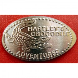 AUS - Hartleys Crocodile Adventures - Crocodile 2 - cuivre
