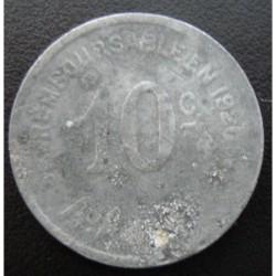 Monnaie de nécessité - 10 C - Ville et port de Cette (Sète) - 1917