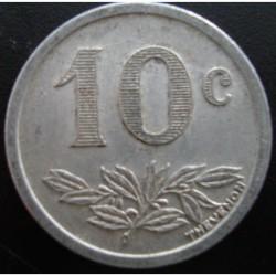 Monnaie de nécessité - 10 c - Charleville & Sedan - Chambre de commerce - 1921