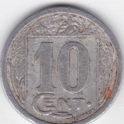 Monnaie de nécessité - 10 c - Société des commerçants - Royan sur l'Océan - 1922