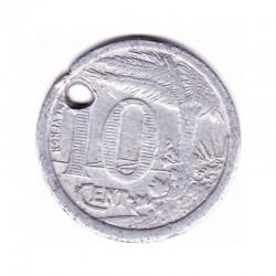 CHAMBRE DE COMMERCE D'ORAN - 10 Centimes - 1921