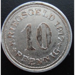 Monnaie de nécessité - 10 pfennig - Hörde in West - 1917