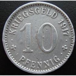 Monnaie de nécessité - 10 pfennig - Menden - 1917