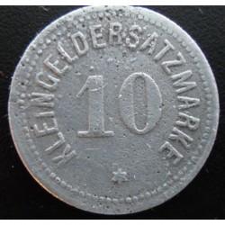 Monnaie de nécessité - 10 pfennig - Bingen- 1918