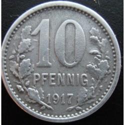 Monnaie de nécessité - 10 pfennig - Iserlohn - 1917