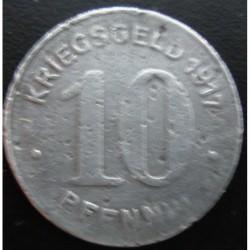Monnaie de nécessité - 10 pfennig - ELBERFELD - 1917