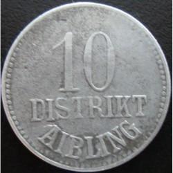 Monnaie de nécessité - 10 pfennig - Aibling