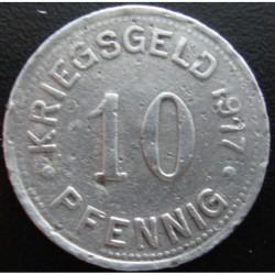 Monnaie de nécessité - 10 pfennig - Münster - 1917