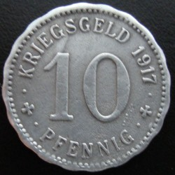 Monnaie de nécessité - 10 pfennig - Hagen- 1917