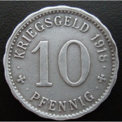 Monnaie de nécessité - 10 pfennig - Hagen- 1918