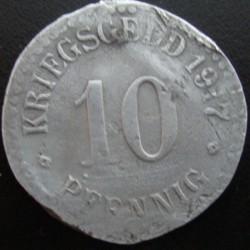 Monnaie de nécessité - 10 - Cassel - 1917