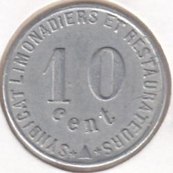 Monnaie de nécessité - 10 Centimes - Narbonne - 1922