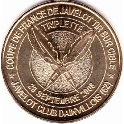 62 - DAINVILLE – la Coupe de France de Javelot Tir sur Cible – 2008