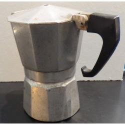 """Petite cafetière """"à l'italienne"""" vintage fonte d'aluminium"""
