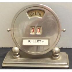 Calendrier perpétuel de bureau vintage
